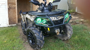 2018 850 can am outlander xt(reduced price)need gone