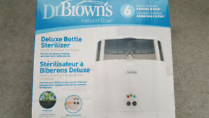 Dr brown baby bottle sterilizer