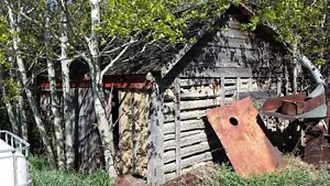 OLD LOG CHICKEN COOP TO BE REMOVED Strathcona County Edmonton Area image 1
