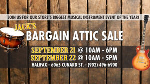 Jack's Attic Sale . . This Friday and Saturday