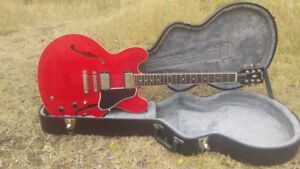 2010 Gibson ES335 Dot Plain Cherry Red + HSC