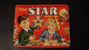THE STAR PAINT BOX WATER COLOURS London Ontario image 1