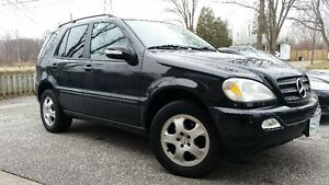 2004 Mercedes-Benz M-Class SUV, 7 seater rare find low km