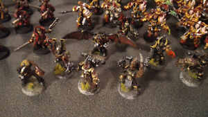 Painted 40k Chaos army, trade for X wing? London Ontario image 10