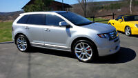 "2009 Ford Edge SPORT, LOADED Navi, Glass Roof, 22"" Wheels"