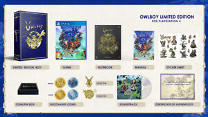 Owlboy Limited Edition BRAND NEW SEALED for PS4