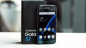 *****Samsung Galaxy S7 Black 32  NEW - Factory UNLOCKED Windsor Region Ontario image 1
