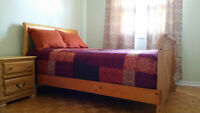 Furnished Room in a 4 bdrm house