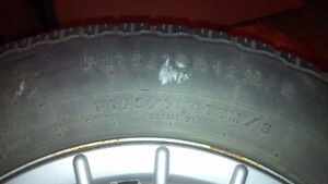 175/70R13 VW Wheels with tires Edmonton Edmonton Area image 2