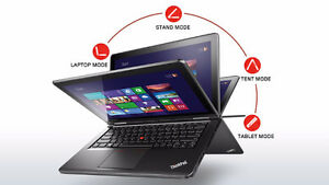 "Lenovo ThinkPad Yoga 12.5"" 1920 x 1080 i5-4200U 4GB RAM SSD"