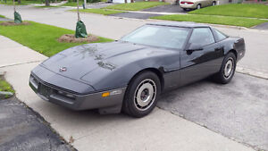 1987 Chevrolet Corvette Collectors Vehicle