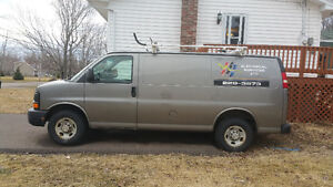 2010 Chevrolet Express 2500 Work Van in good condition