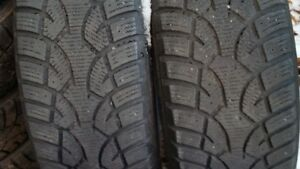 "Set of 4-195/60/15"" Winter tires"