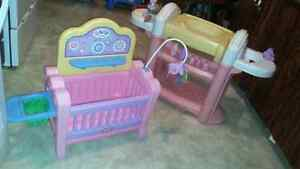 Little tikes baby nursery and change table