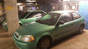 For BOTH: $2500. One manual on auto. Both factory Midori Green