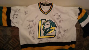 London Knights autographed jersey