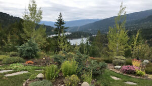 153 acres with custom-built home in Nelson BC