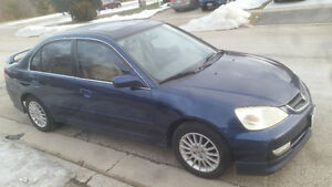 2003 Acura EL Sedan For Sale Kitchener / Waterloo Kitchener Area image 1