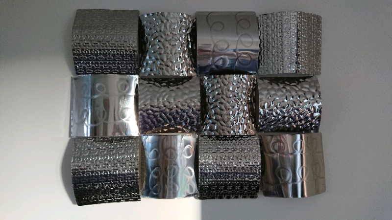Silver metal wall art   in Broughty Ferry, Dundee   Gumtree