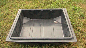 4x4 ft reservior