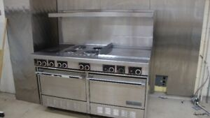 Commercial Oven and Stove
