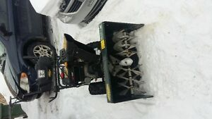 Snow Blower with shelter for operator