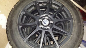 Fiat 500l snow tires and rims