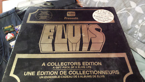 Elvis collector 8 track tapes