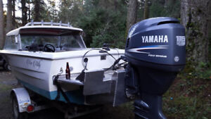 18 foot hourston custom boat/trade for camper