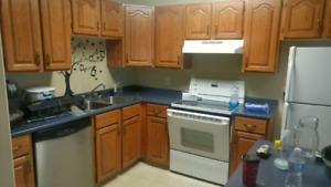 All inclusive large 3 bedroom duplex. Heat pump own laundry!
