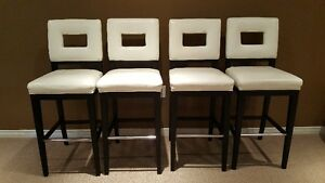 BAR STOOLS - SET OF 4