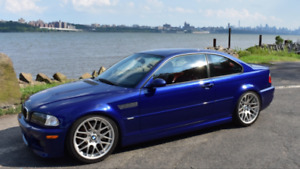 BMW E46 M3 Coupe 6MT clean low mileage bas km
