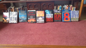 Over 40 Hard Cover Books