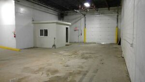 Shop with 2 dock height doors and 1 33'X66' bay (12'x14' ohd)