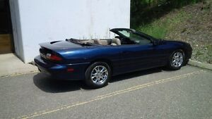 2002 Chevrolet Camaro Convertible with Car proof And Clear