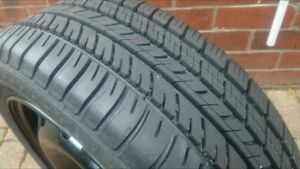 Brand new Michelin Energy tires with Steel Rims!