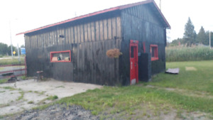 Shop for rent off Hwy 6 in Flamborough