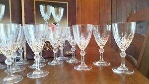 Crystal Wine, Old Fashioned and Liquer glasses