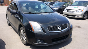 2010 Nissan Sentra SE-R Sedan NAVI ALLOYS CERTIFIED