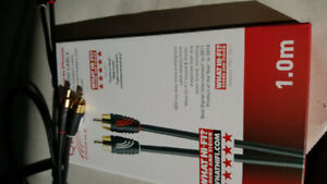 QED Profile RCA cables