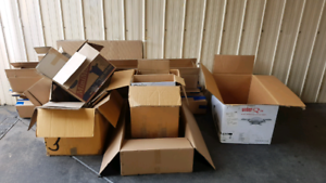 Moving Boxes for free!