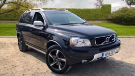 2014 Volvo XC90 2.4 D5 R-Design Auto With Blue Automatic Diesel Estate
