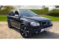 2014 Volvo XC90 2.4 D5 R-Design Auto With Blue Automatic Diesel Estate