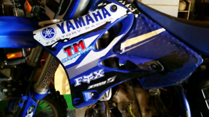 Blair Morgan Sponsor Bike- 2003 yz250