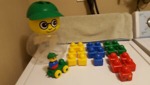 Vintage (1998) Lego Primo - Timmy's Stack 'n' Learn Set - #2018
