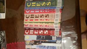 Chess Life & Chess UK magazines for sale