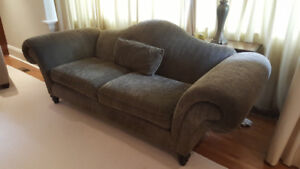 Camel back couch – excellent condition