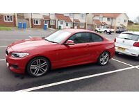 BMW 220M Sport (2014). Low mileage immaculate condition