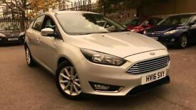 2016 Ford Focus 1.5 EcoBoost Titanium Automatic Petrol Hatchback