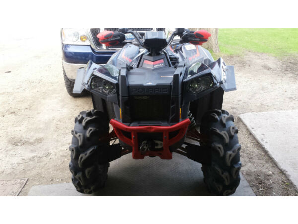 Used 2013 Polaris 2013 Scrambler 850 HO/EPS LE